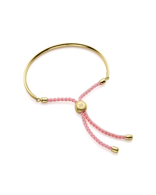 Monica Vinader - Metallic Fiji Friendship Bracelet - Lyst