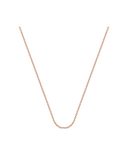 "Monica Vinader | Pink Rolo Chain 24""/61cm With Adjuster 