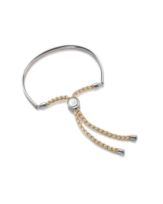Monica Vinader | Natural Fiji Friendship Bracelet | Lyst