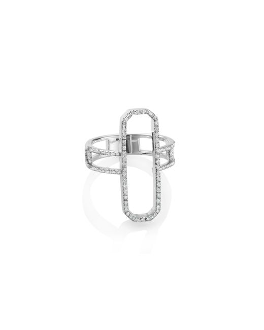 Monica Vinader - Metallic Naida Cocktail Ring - Lyst
