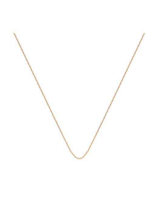 "Monica Vinader | Metallic Fine Chain 17""/43cm With Adjuster 