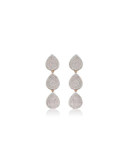 Monica Vinader - Pink Alma Cocktail Earrings - Lyst