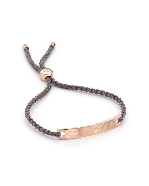 Monica Vinader | Brown Havana Friendship Bracelet | Lyst