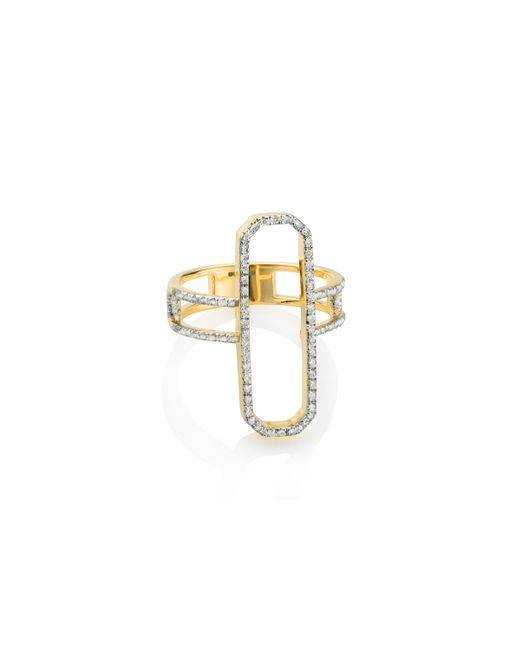 Monica Vinader | Metallic Naida Cocktail Ring | Lyst
