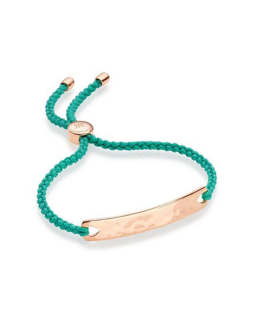 Monica Vinader - Green Havana Friendship Bracelet - Lyst