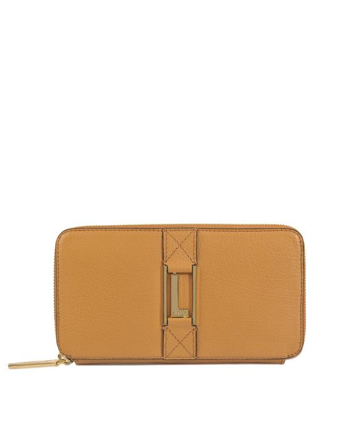 Lancel - Brown Max Continental Zipped Wallet - Lyst
