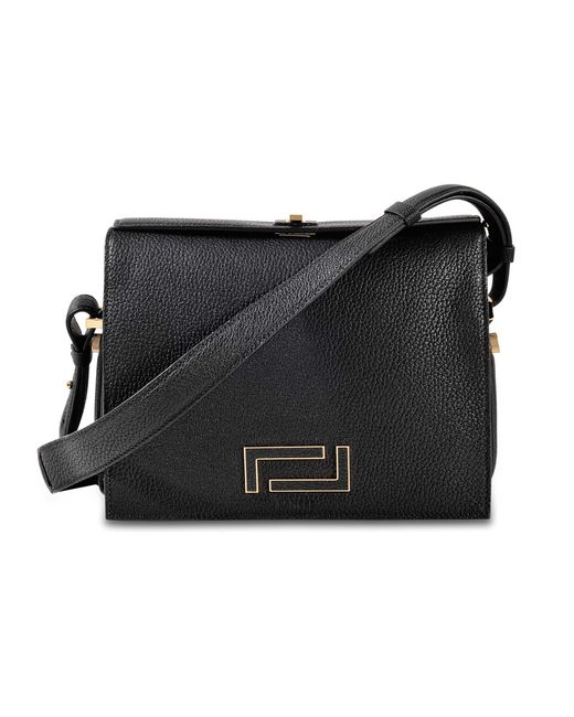 Lancel | Black Pia Crossbody Bag | Lyst