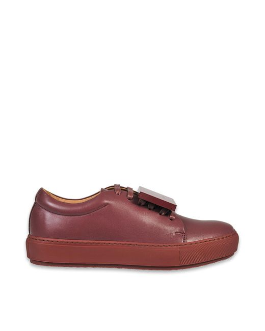 Acne | Multicolor Adriana Leather Sneaker | Lyst