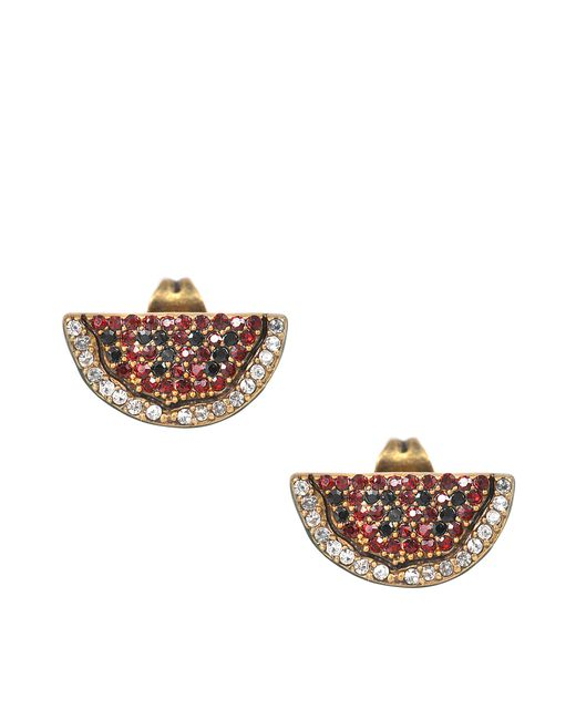 Marc Jacobs | Multicolor Charms Tropical Watermelon Studs Earrings | Lyst