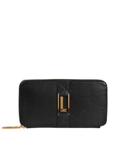 Lancel | Black Max Continental Zipped Wallet | Lyst
