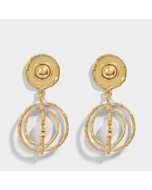 Sylvia Toledano - Metallic Astrobale Earrings - Lyst