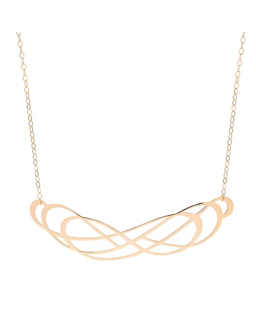 Ginette NY   Metallic Volute Necklace   Lyst