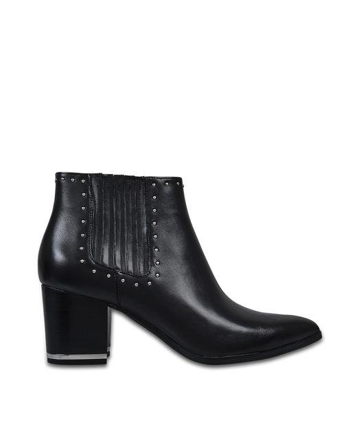 MICHAEL Michael Kors | Black Gemma Ankle Boots | Lyst