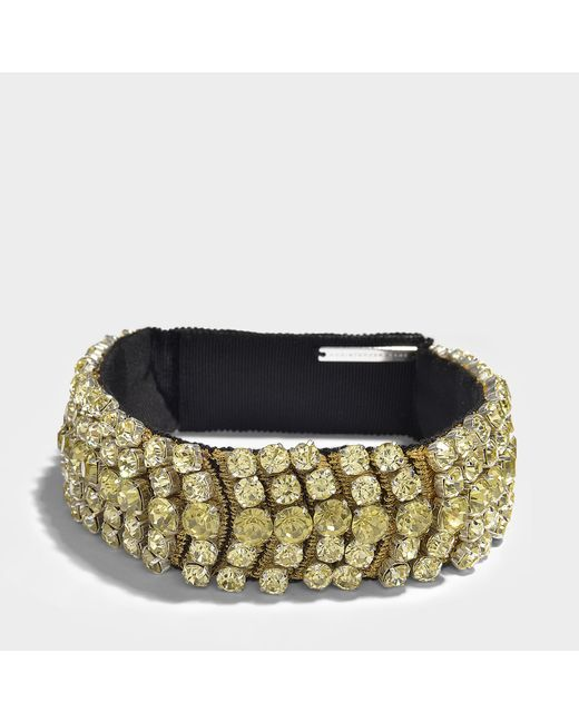 Christopher Kane - Multicolor Crystal Choker - Lyst