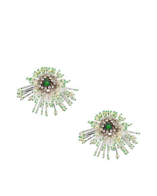 Shourouk   Metallic Cascade Earrings   Lyst