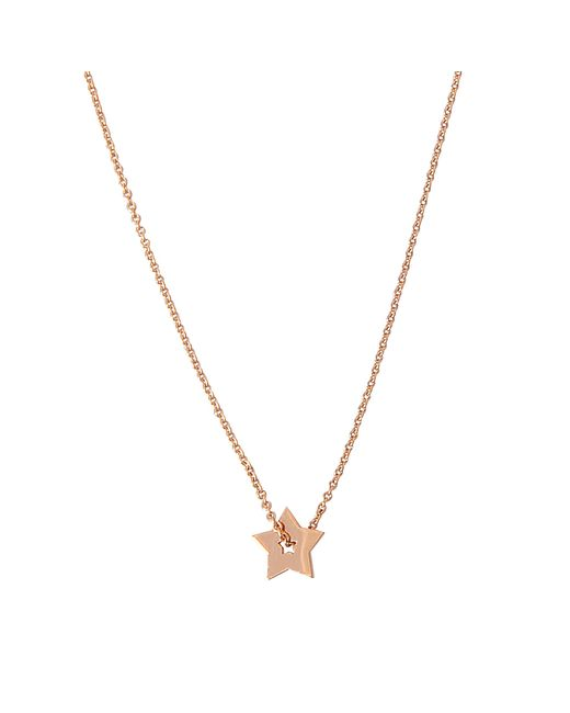 Ginette NY - Metallic Open Star On Chain Necklace - Lyst