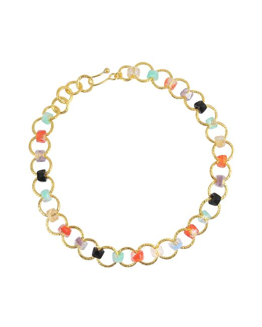 Aris Geldis | Multicolor One Line Multicolour Choker (with Coral) | Lyst