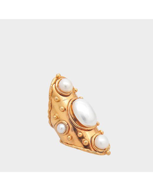 Sylvia Toledano - Metallic Byzance Pearls Ring - Lyst