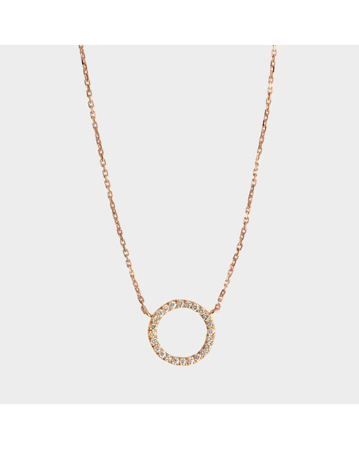 Vanrycke - Metallic Exclusive - Necklace I'm In Love 750‰ Gold And Diamonds - Lyst