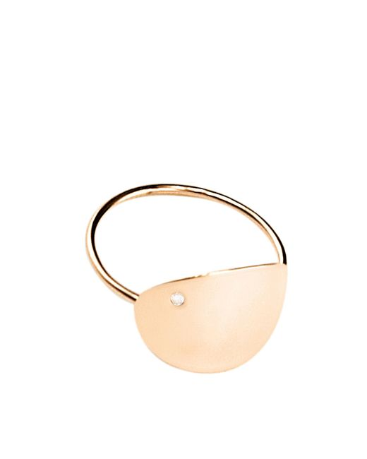 Ginette NY | Metallic Large Sequin And Diam Ring | Lyst