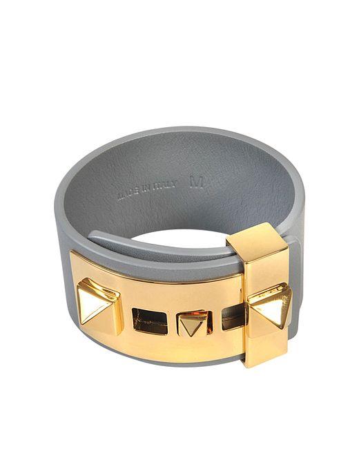 Valentino | Multicolor B Rockstud Large Bracelet | Lyst