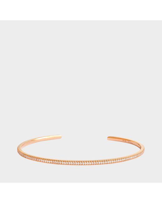 Vanrycke - Metallic Officiel Bracelet 750‰ Gold And Diamonds - Lyst
