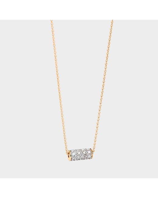 Ginette NY - Metallic Mini Straw Diamond Necklace - Lyst