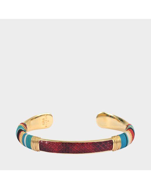 Gas Bijoux - Multicolor Python Bracelet Massai O - Lyst