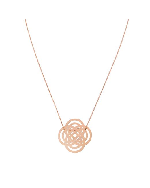 Ginette NY - Metallic Baby Purity On Chain Necklace - Lyst