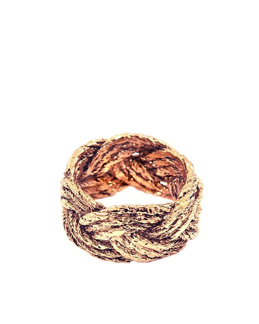 Aurelie Bidermann - Metallic Miki Ring In Gold Metal - Lyst