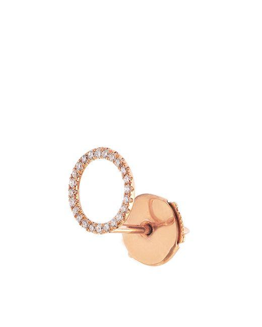 Vanrycke | Metallic Exclusive - Mono Earring I'm In Love 750‰ Gold And Diamonds | Lyst