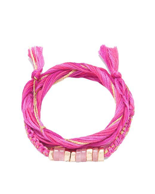Aurelie Bidermann | Pink Takayama Bracelet | Lyst