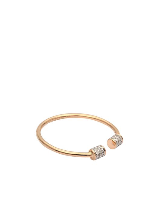Ginette NY | Green Single Diamond Choker Ring | Lyst