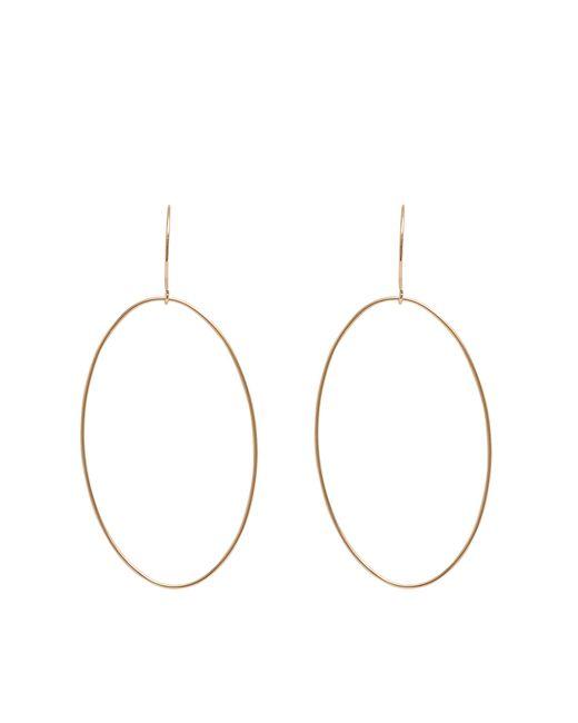 Ginette NY   Pink Bo Ellipse Earrings   Lyst