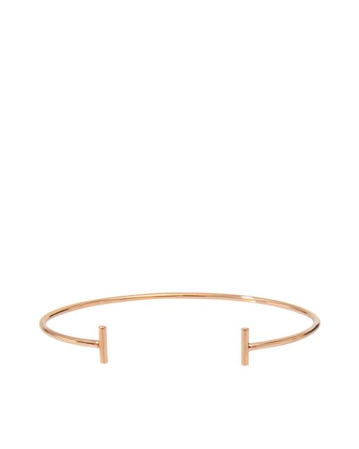 Ginette NY | Metallic Gold Strip Bangle Bracelet | Lyst