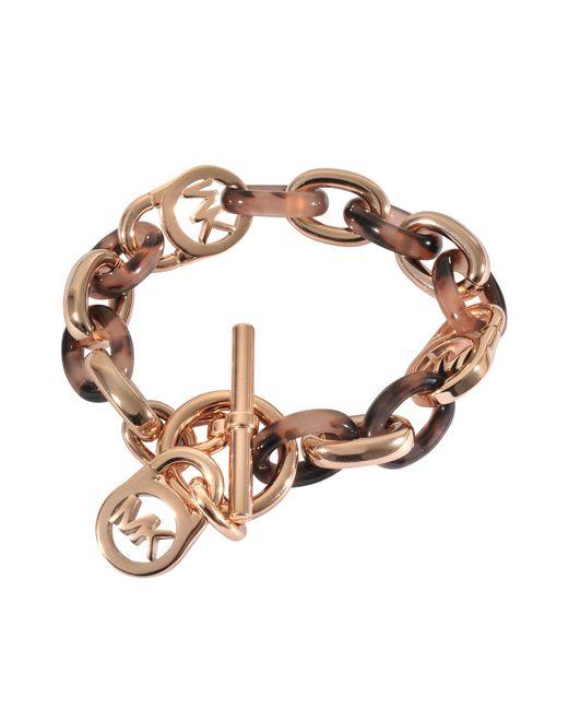 MICHAEL Michael Kors | Brown Armband Blush Tortoise | Lyst