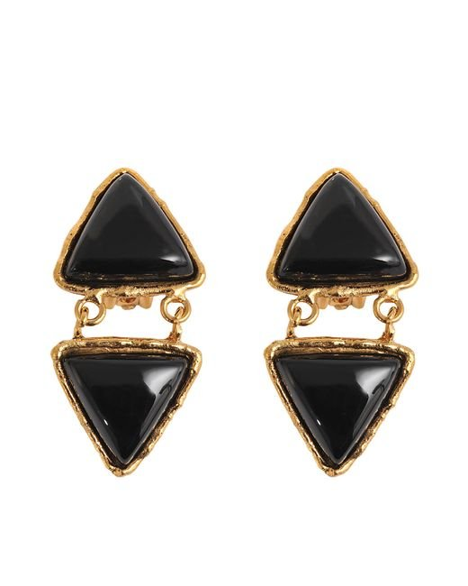Sylvia Toledano | Black Triangles Earrings | Lyst