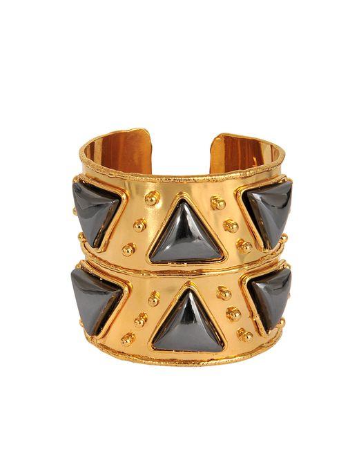 Sylvia Toledano | Metallic Triangles Cuff | Lyst