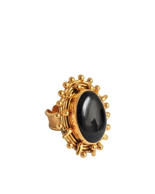 Sylvia Toledano | Black Dots Malachite Ring | Lyst
