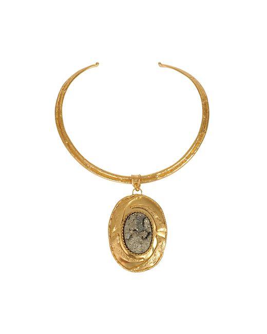Sylvia Toledano   Metallic Pyrite Necklace   Lyst