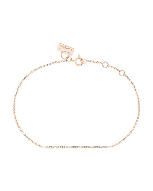 Vanrycke   Pink Medellin Gold And Diamond Bracelet   Lyst