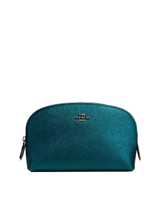 COACH | Green Cosmetic Case | Lyst