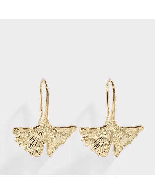 Aurelie Bidermann - Metallic Tangerine Drop Earrings - Lyst