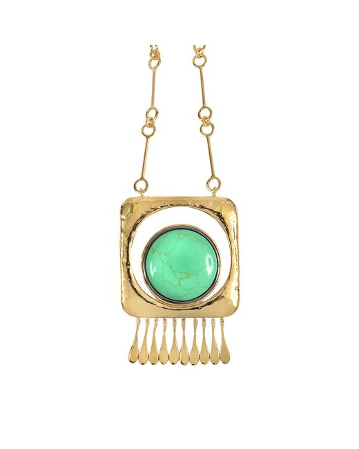 Aurelie Bidermann | Multicolor Untitled Necklace With Turquoise | Lyst