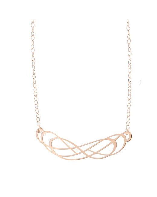 Ginette NY | Metallic Volute Necklace | Lyst