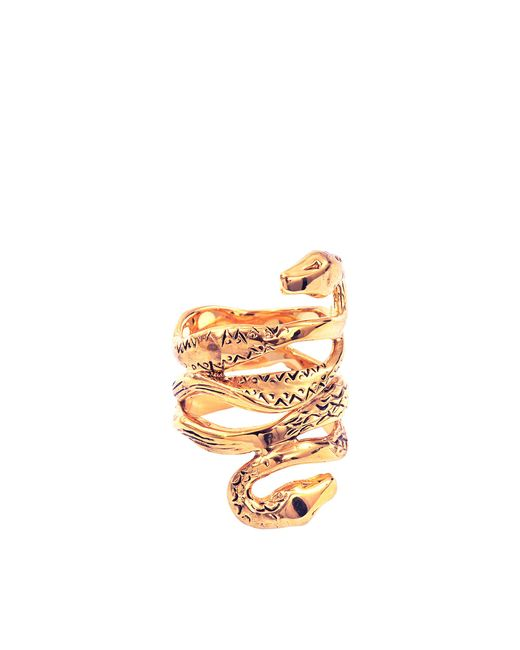 Aurelie Bidermann | Metallic Mamba Ring | Lyst