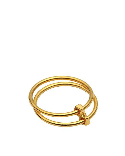 Maria Black - Metallic Double Ring - Lyst