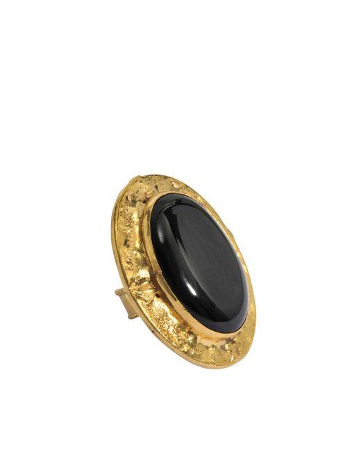 Sylvia Toledano | Metallic Oval Quartz Ring | Lyst