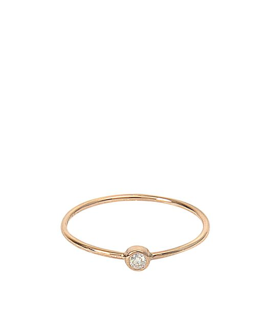 Ginette NY | Multicolor Mini Lonely Diamond Ring | Lyst