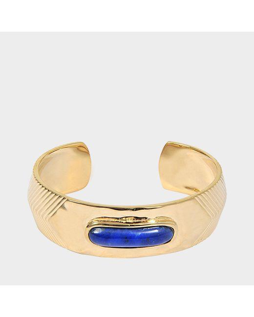 Aurelie Bidermann - Blue Peggy Bracelet With Lapis Lazuli - Lyst
